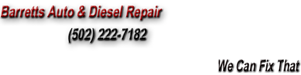 Barretts Auto & Diesel Repair